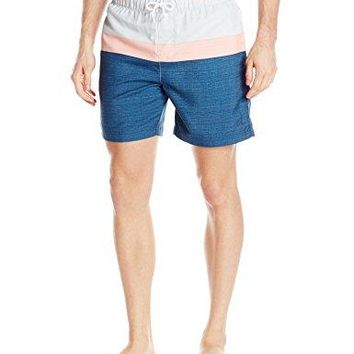 Original Penguin Colorblocked Swim Shorts