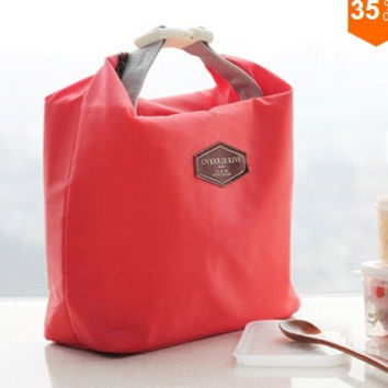 Outdoor Picnic Insulated Lunch Bag Box Container Cooler Thermal Waterproof Tote = 1669358660