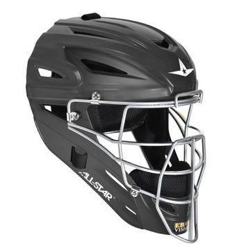 ALL-STAR MVP2500M Matte Finish Adult Catchers Helmet