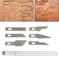 Multi-function Scrapbooking Model Hobby Crafts Carving Knife Blade Tool Set new Worldwide sale