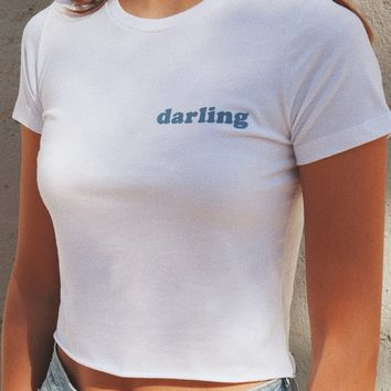 Darling Cropped Tee