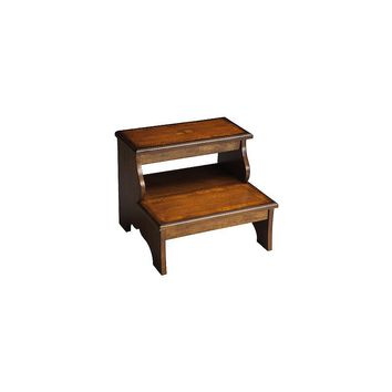 Butler Masterpiece 2-Step Wood Step Stool  sc 1 st  Wanelo : 2 step wooden stool - islam-shia.org
