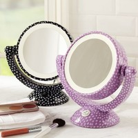 Mini Dot Light-Up Mirror