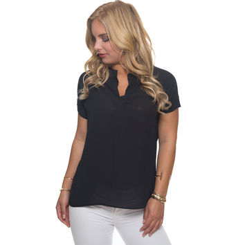 Reinvent Blouse In Black