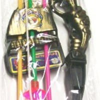"""12 Pack Kids Plastic 15"""" Archery Bow and Arrow Sets W/suction Cup Arrows Party Toys"""