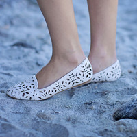 Isla Cut Out Flat Loafer