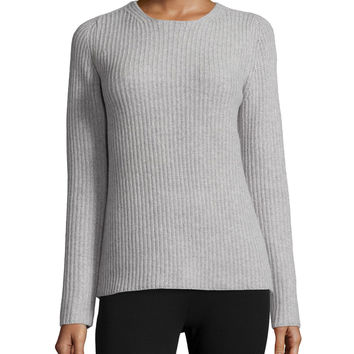 Arminay Fine Haven Ribbed Sweater, Size: