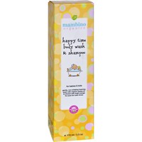 Mambino Organics Baby Kids Wash and Shampoo - Happy Time - 5.5 fl oz