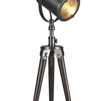 Brielle 26-inch Tripod Photographer Table Lamp