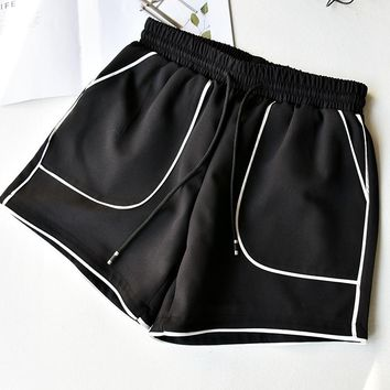 Summer Sport Shorts Women Patchwork Sportwear Female Woman Sport Fitness Hot Yoga Shorts for Ladies Underpants for Running M-XL