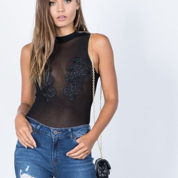 Nightfall Mesh Bodysuit
