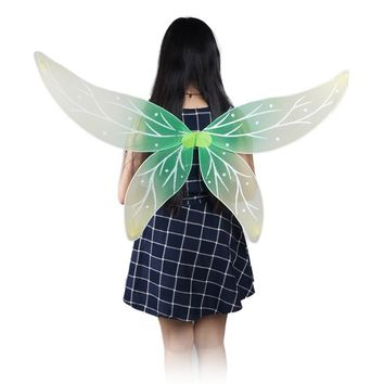 Spirit Wings, girl and Adults show clothing green butterfly peri  Fairy Wings Halloween costume Christmas products Handcrafted