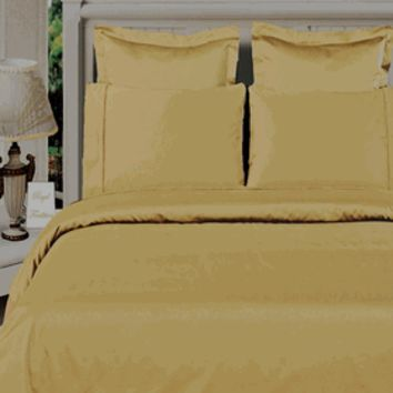 Gold 100% Viscose from Bamboo 4pc Comforter Cover Set