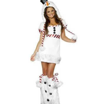 CUPUPGM On Sale Hot Deal Halloween Costume Christmas Cosplay Animal Santa Custome [8978917639]