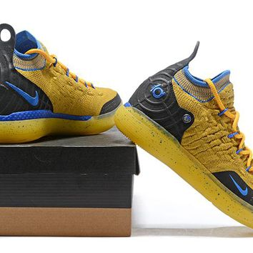 Nike Kevin Durant KD 11 Basketball Shoe -- Yellow/Black