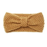 Fuzzy Bow Headwrap