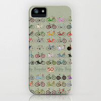 Fifty Bicycles iPhone Case by Andy Scullion | Society6