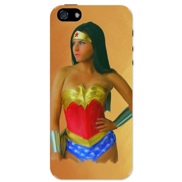 Wonder Woman Oil Painting iPhone 5 / 5S Case