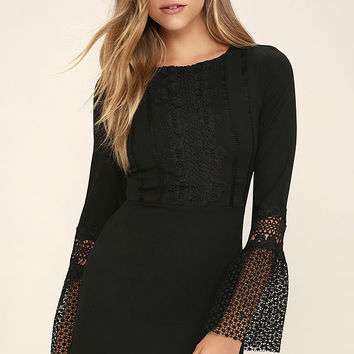 Best Lace Scenario Black Lace Dress