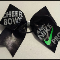 Cheer bows and Nike Pros Cheer bow
