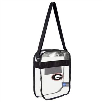 DCCKG8Q NCAA Georgia Bulldogs Clear Tote Bag