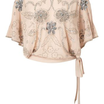 PREMIUM Angel Sleeve Top | Missselfridge