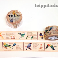 Encyclopedia, Birds masking tape (30mm)
