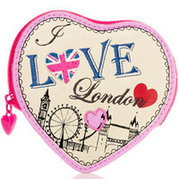 Jadore Londres Heart Coin Purse at Accessorize