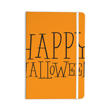 "KESS Original ""Happy Halloween - Orange"" Everything Notebook"