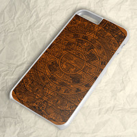 Aztec Wood Calendar iPhone 6 Case