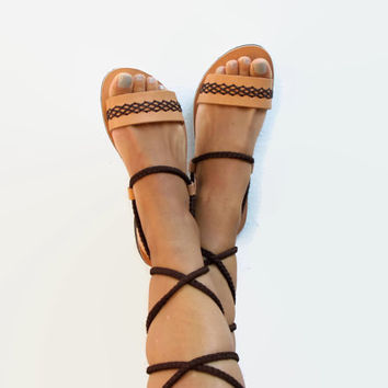 Gladiator Sandals. Custom Colors. Calliope 03 NEW
