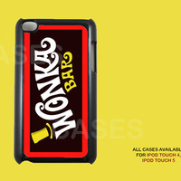 Ipod Touch 4 Case - Wonka Bar Ipod 4G Touch Case, 4th Gen Ipod Touch Cases