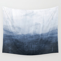 The Storm - Ocean Painting Wall Tapestry by Prelude Posters