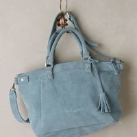Ginny Suede Satchel by Liebeskind Wedgewood Blue One Size Bags