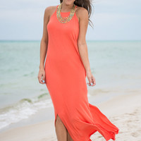 Easy Breezy Maxi Dress, Coral