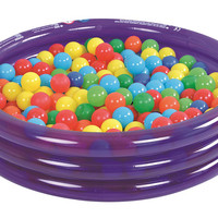 """36"""" Transparent Purple Inflatable Children's Play Pool Ball Pit"""