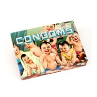 Condoms Tin Pocket Box