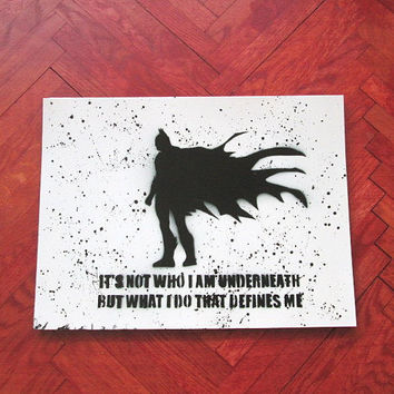 batman poster,superhero wall art,superhero art,batman quote,batman painting,batman gifts,batman birthday,boys room decor,comics,gift for him