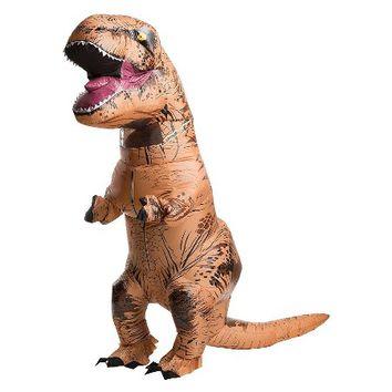 Jurassic World Inflatable T-Rex Adult Costume : Target
