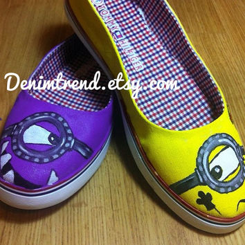 Minions Custom Shoes