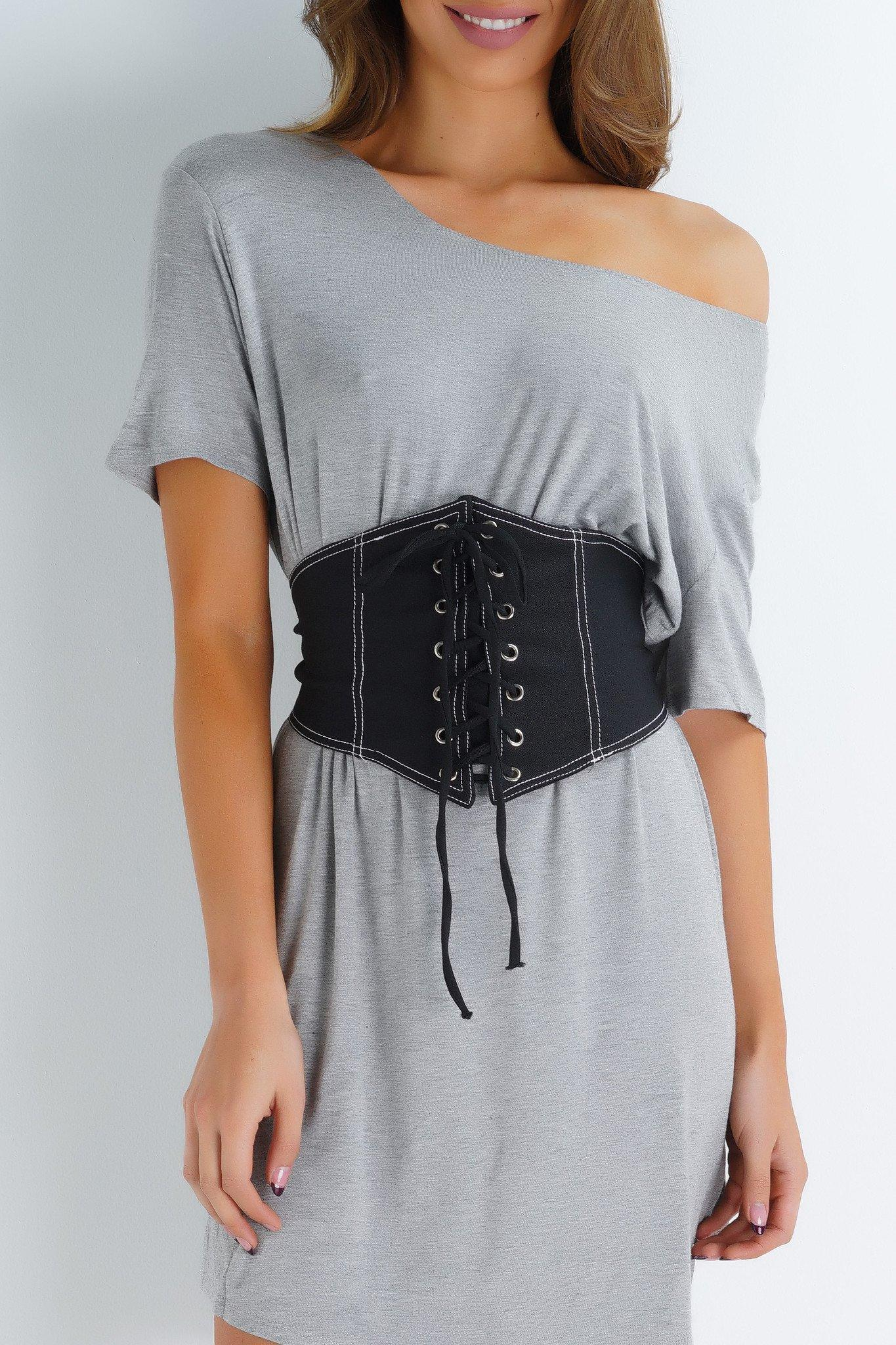 85b33ba17eb Hailey Corset Belt - Black from WantMyLook