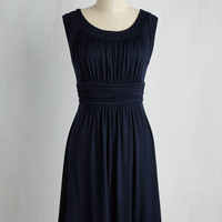 Mid-length I Love Your Dress in Navy