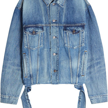Denim Jacket - Balenciaga | WOMEN | KR STYLEBOP.COM
