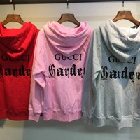 Gucci Museum Series Fashion Pullover Hoodie