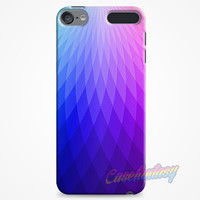 Rainbow Light Pattern iPod Touch 6 Case | casefantasy