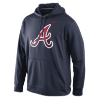 Nike Logo Performance Pullover 1.4 (MLB Braves) Men's Hoodie