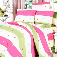 Colorful Life Luxury 7PC MEGA Bedding Set Combo 300GSM in Twin Size