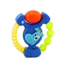 Baby Teether Toys Colorful Calf Teether Baby Rattle Toy 4.7*5.1''