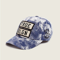 MARBLE DYED BASEBALL CAP