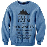 Keep Calm and Hogwarts Crewneck